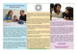 Terapia Jąkania Wczesnodziecięcego Lidcombe Program