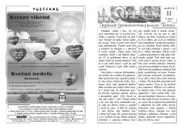 Solún 11/2015 - Gréckokatolícka farnosť Trebišov
