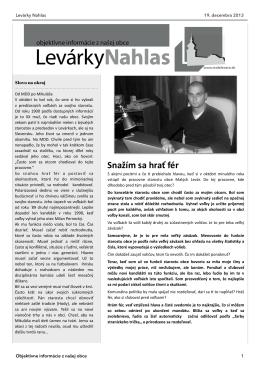 2. Vydanie - Obec Malé Leváre