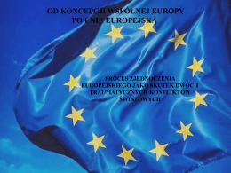 parlament europejski etapy budowania wspólnoty europejskiej