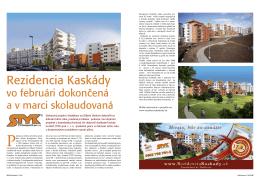 an article in the Štýl bývania
