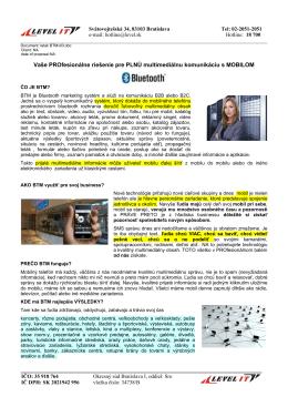 Viac o službe reklama cez bluetooth a wifi