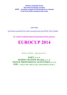 Eurocup Klasik - Hotelová akadémia Prešov