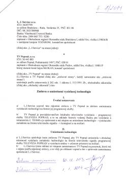 Page 1 &. L. J. Service s.r.o. ICO: 36207799 so sfdlom Bratislava