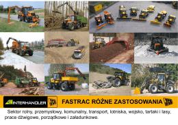 Katalog Fastarc różne zastosowania