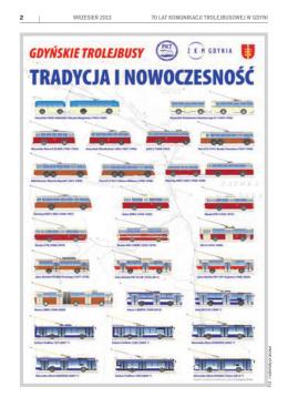 2 wrzesień 2013 70 lat komunikacji trolejbusowej w