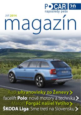 Magazín PO CAR - Jar 2014