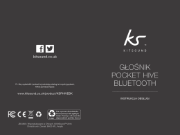 Głośnik Pocket Hive BluetootH