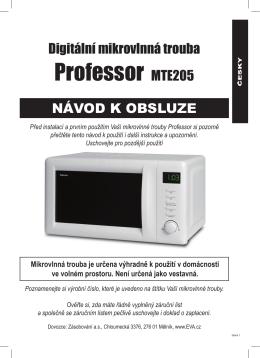 Professor MTE205