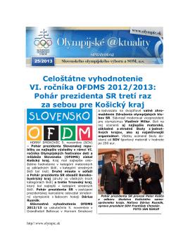 Olympijské aktuality 25/2013