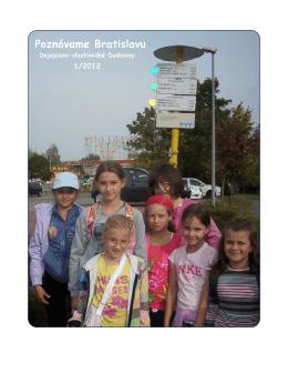 Dejepisno-vlastivedný časopis 2012