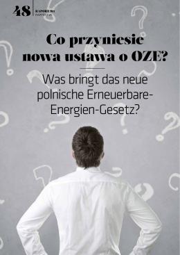 przyniesie nowa ustawa o OZE