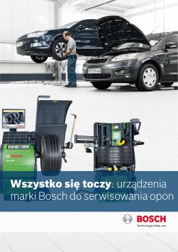 Wszystko się toczy: urządzenia marki Bosch do serwisowania opon