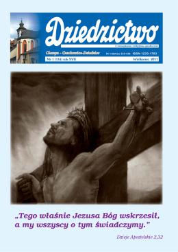 """""""Tego właśnie Jezusa Bóg wskrzesił, a my wszyscy o"""