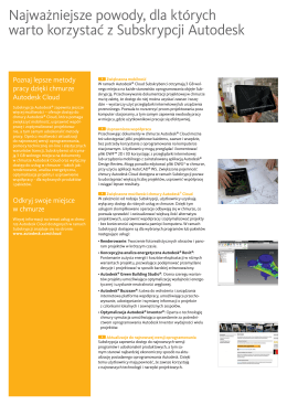 ulotka Autodesk Cloud ( pdf)