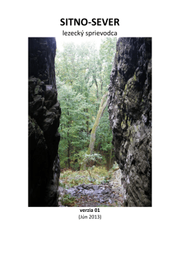 SITNO-SEVER - Horolezecký klub IAMES Levice