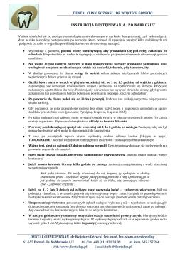 """instrukcja postępowania """"po narkozie"""" (pdf)"""