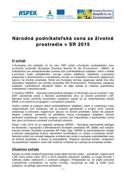 Propozície NPC 2015 - ASPEK-u
