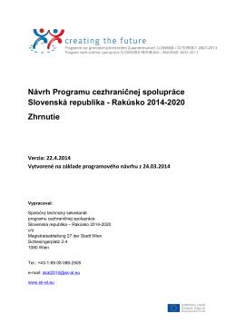Rakúsko 2014-2020