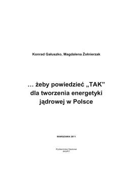"""żeby powiedzieć """"TAK"""" - Wydawnictwo Naukowe AKAPIT"""