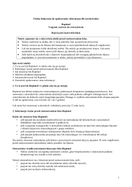 Ulotka - Ropimol 5 mg roztwór do wstrzykiwań
