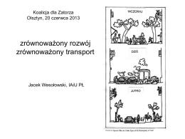 Jacek Wesołowski Zrównoważony Rozwój