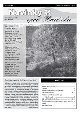 Obecné noviny 3/2010