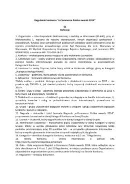 Pobierz regulamin w pdf - e