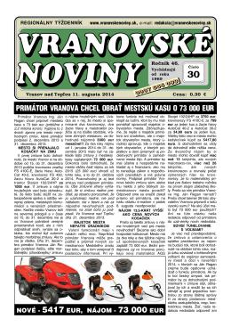 VN2014-30 - Vranovské noviny