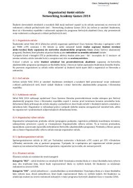 Organizačný štatút v PDF formáte
