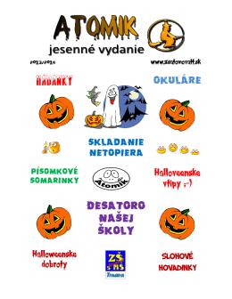 číslo 1 - zsatomovatt.sk