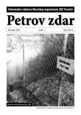 Petrov zdar 01/2014