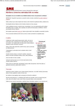 SME.sk | Návštevu cintorína nahrádza klik na webe