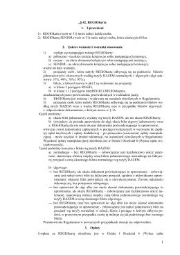 Pełny tekst warunków taryfowych REGIOkarty / REGIOkarty SENIOR