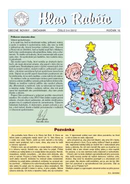 Obecné noviny 3-4/2012