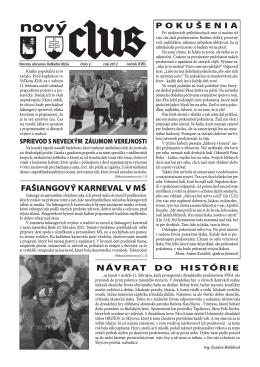 Obecné noviny č.2 - 2012