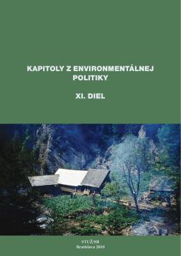 KAPITOLY Z ENVIRONMENTÁLNEJ POLITIKY XI. dIEL