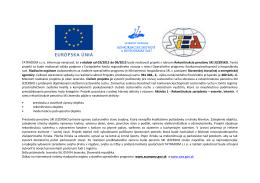TATRADOM sro informuje verejnosť, že v období od 03/2015 do 09
