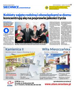 II część artykułu z gazety Siechnice. Nasze Miasto