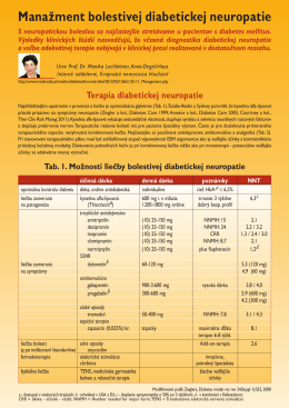 Thioctacid ® - Diabeticka Neuropatia (PDF)