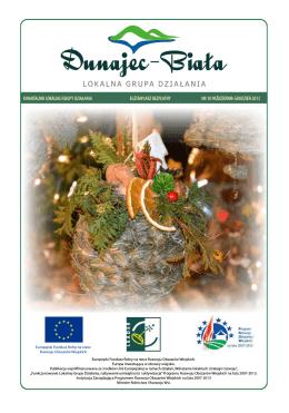 Publikacja - Lokalna Grupa Działania Dunajec