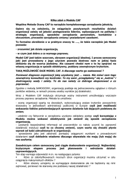 Opis CAF - u www.pzdu.pl.