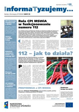 112 – jak to działa? - Centrum Projektów Informatycznych