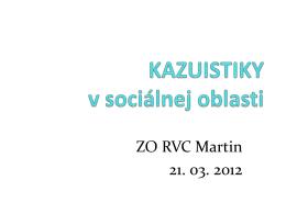 Dokument - RVC Martin