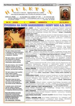 23.12.2012-12 - Polska Parafia w Leeds