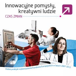 Innowacyjne pomysły, kreatywni ludzie