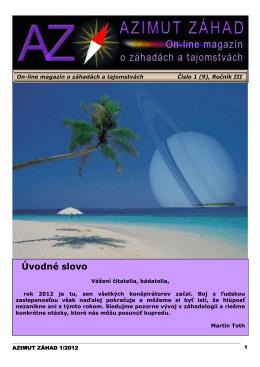 azimut_zahad_1-2012 - Klub psychotroniky a UFO