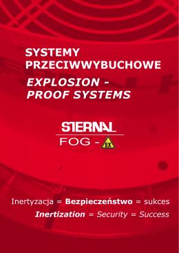 Systemy przeciwwybuchowe - Sternal International Sp. z oo