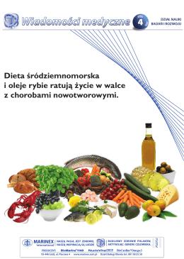 Dieta śródziemnomorska i oleje rybie ratują życie w walce z