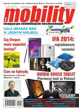 IFA 2014: - Mobility